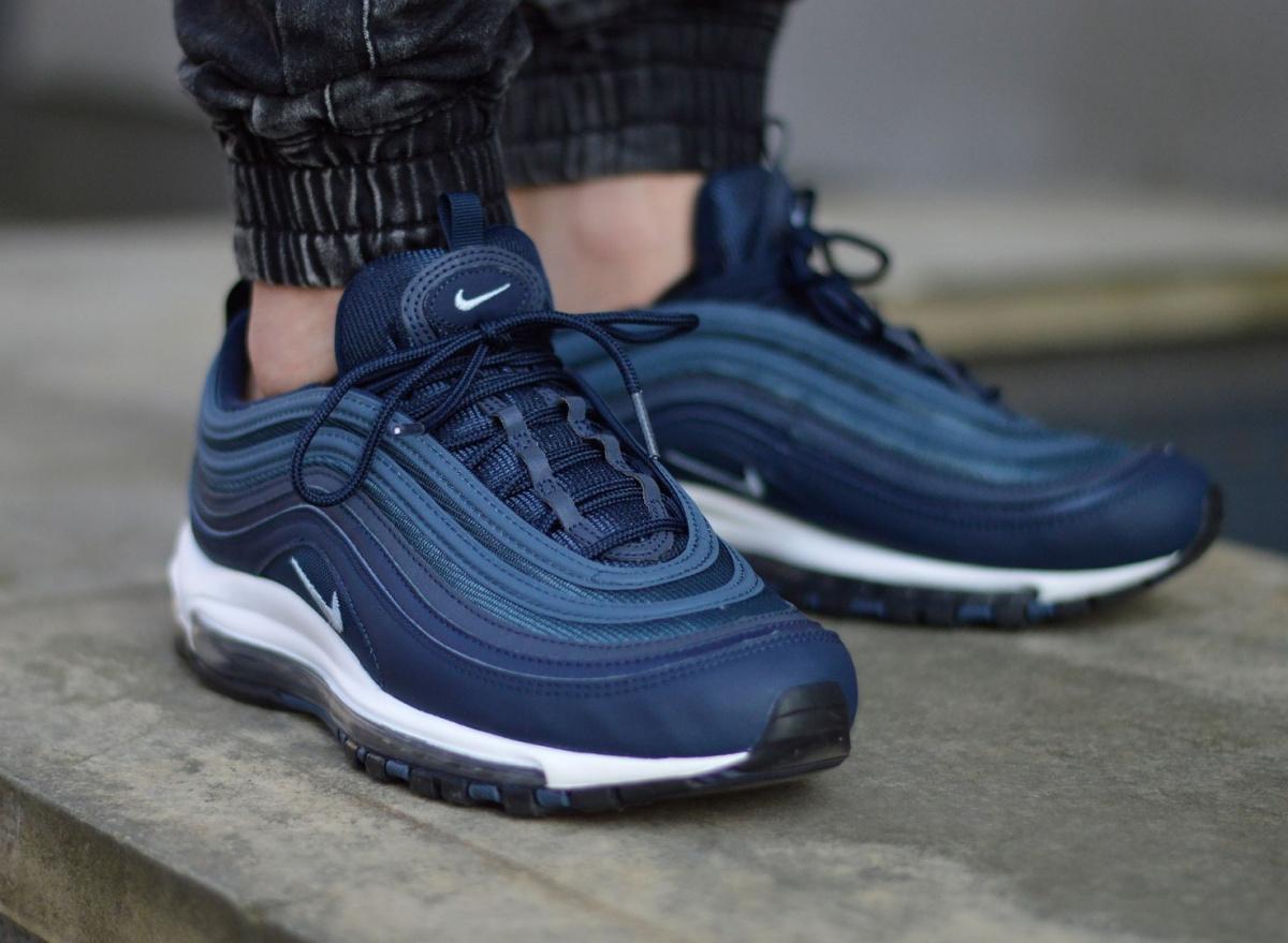 Chaussures Nike Air Max 97 Essential (Bleu marine) • prix